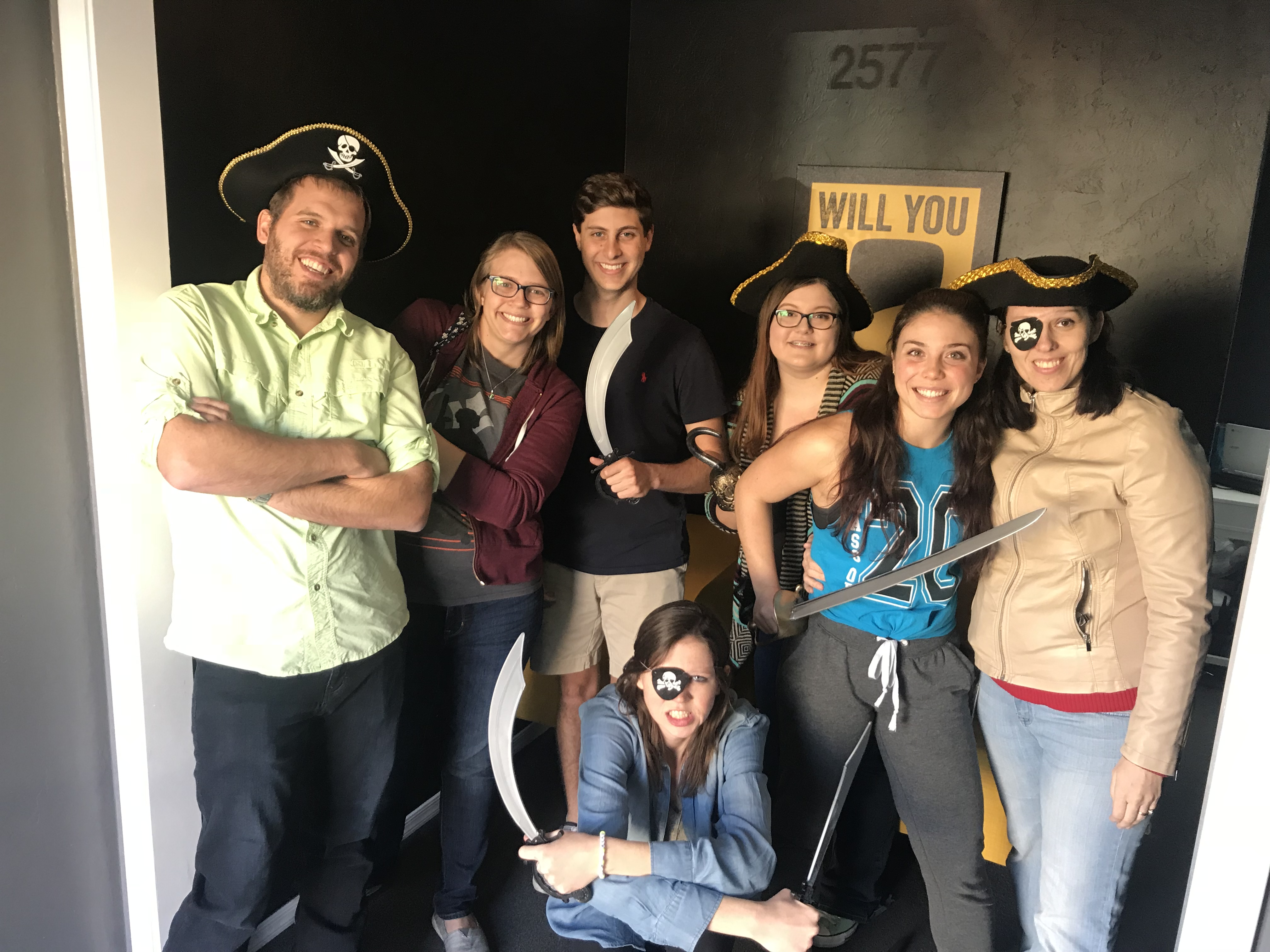 lab after escape room